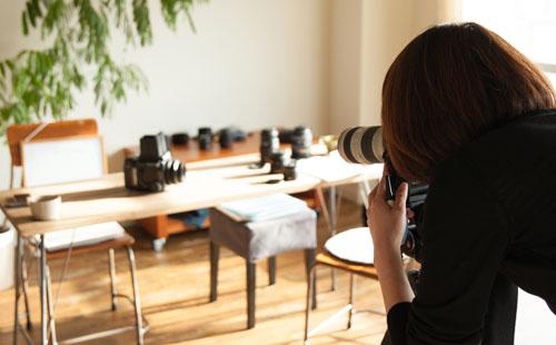 NoThrow 名古屋のプライベート写真教室 中級コースレッスン風景