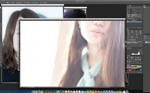 NoThrow 名古屋のプライベート写真教室 デジタル処理photoshopコースレッスン風景