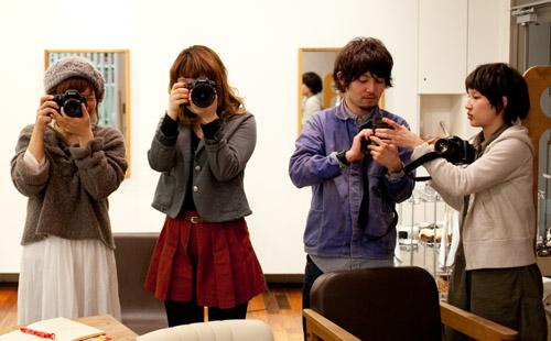 NoThrow 名古屋のプライベート写真教室 入門コースレッスン風景