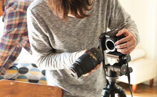 NoThrow 名古屋のプライベート写真教室 初級コースレッスン風景