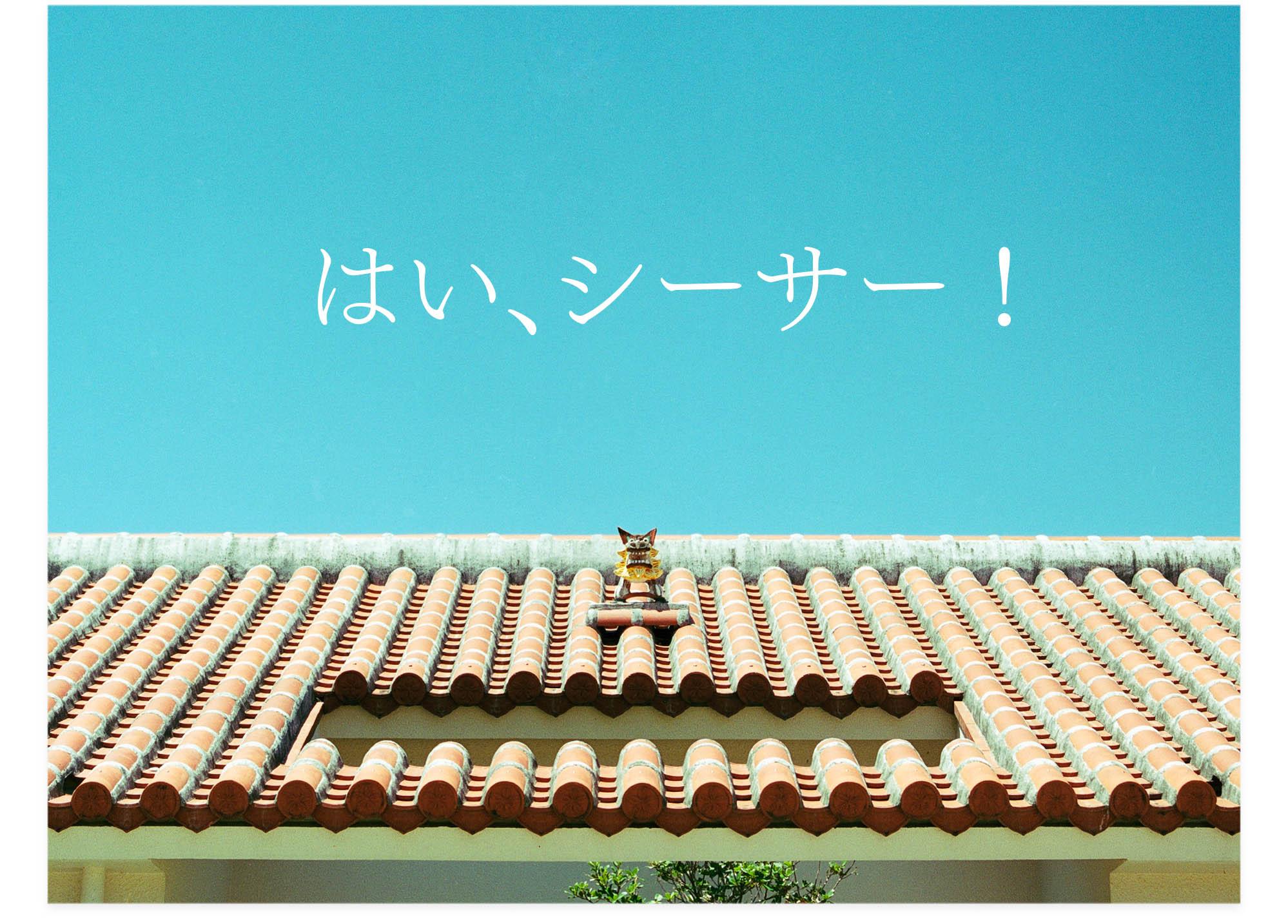 20130915_はい、シーサー