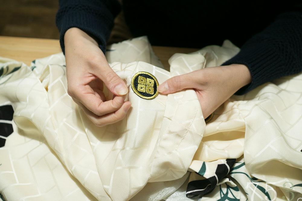 七五三 着物 手作り