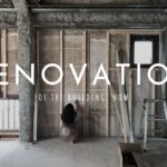 古いビルのリノベーション中_renovation_of_the_building_now
